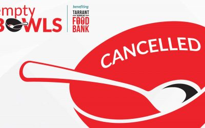 Empty Bowls Canceled